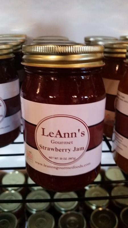 LeAnn's Gourmet Strawberry Jam