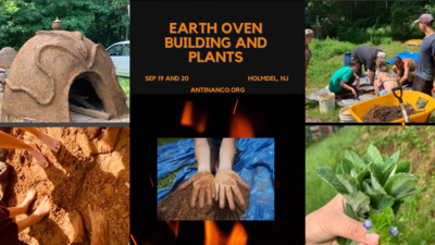 Earth Oven Making and Plants Workshop