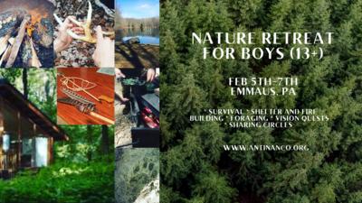 Winter Nature Retreat for Boys (13+)