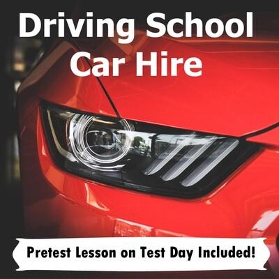 Car Hire & Pretest Lesson
