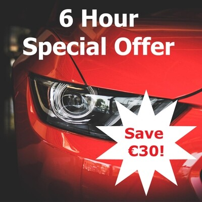 6 Hour Special Offer, Save 30!