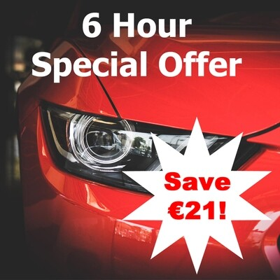 6 Hour Special Offer, Save 21!