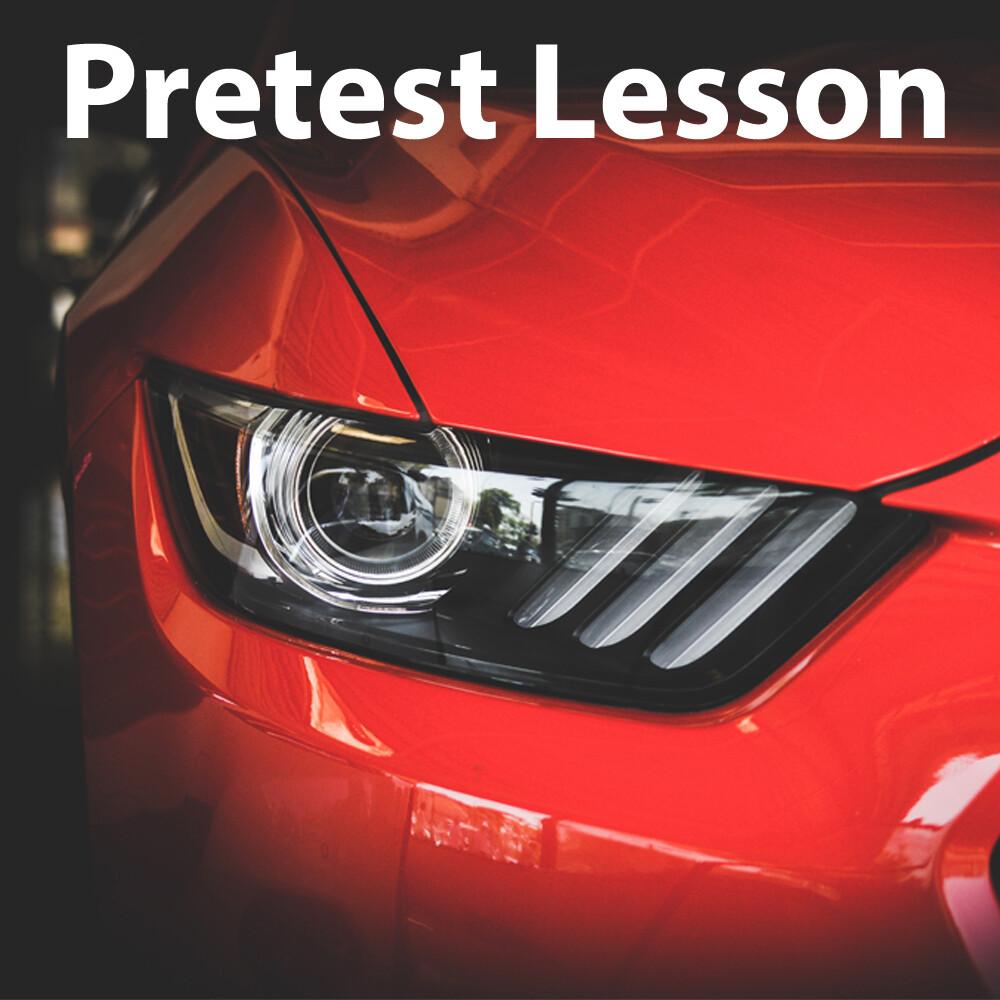 Pretest Lesson