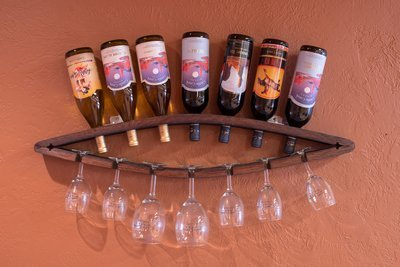 Glass & Bottle Holder