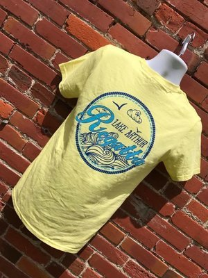 2017 Regatta Tshirt - Silk Yellow