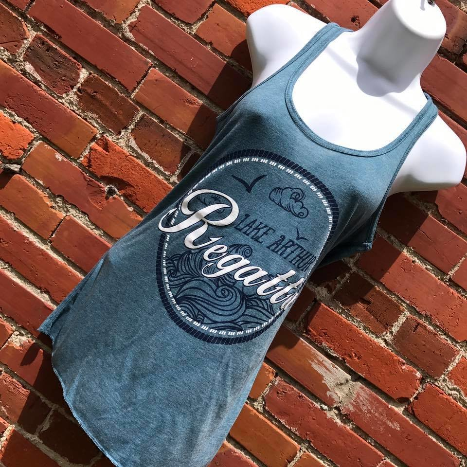 2017 Regatta Muscle/Tank - Heather Slate
