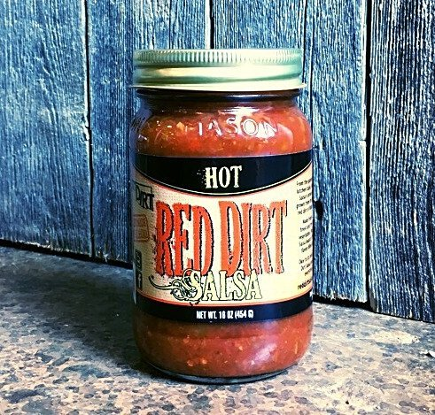 Hot Red Dirt Salsa (14 oz. jar)