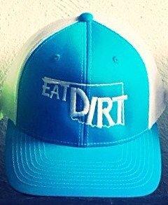 Trucker Hat-Oklahoma Sky Blue/White
