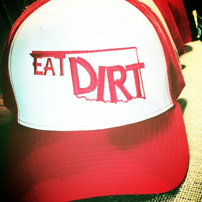 Trucker Hat-Oklahoma Dirt Red