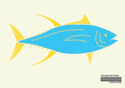 Yellow Fin Tuna Flag