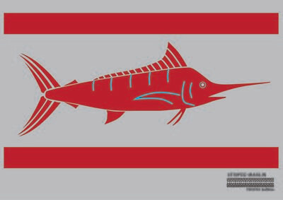 Striped Marlin Flag