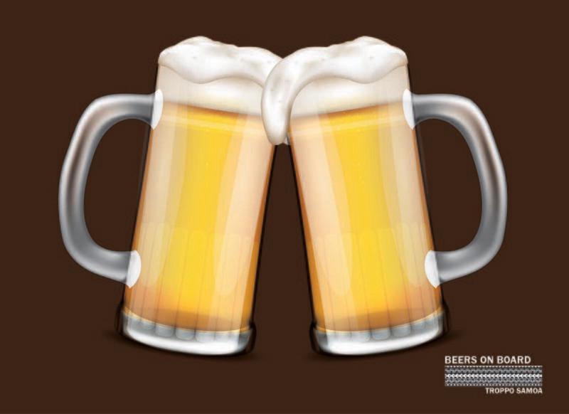 Beers on Board Flag