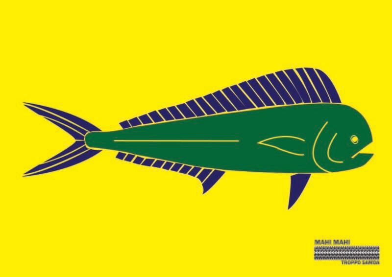 Mahi Mahi Flag