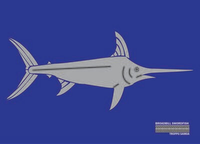 Broadbill Swordfish Flag