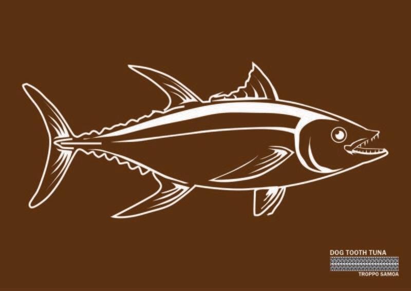 Dog Tooth Tuna Flag