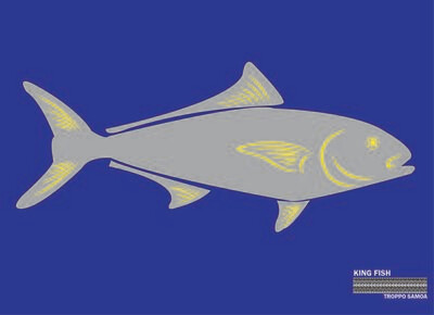 King Fish Flag