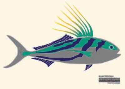 Roosterfish Flag