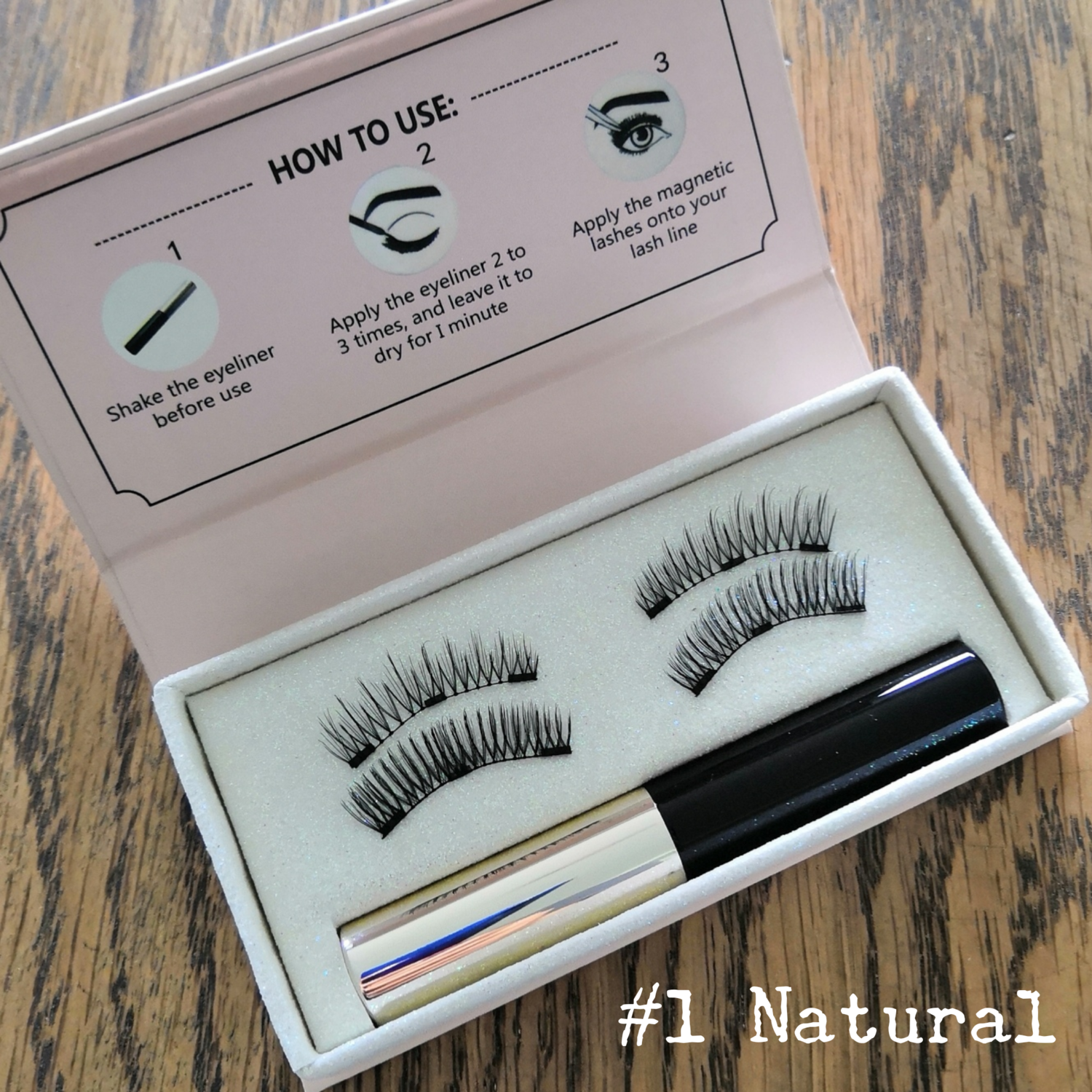 Magnetic Lashes #1 Natural
