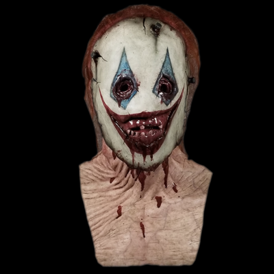 """The """"Discarded"""" Clown  Silicone Mask"""