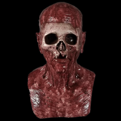 """The """"Witch Doctor"""" Bloody Silicone Mask"""