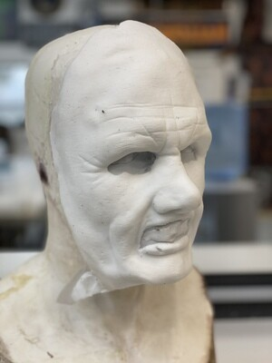 """""""Sean""""  Silicone Mask- IN STOCK! (Flawed/Damaged/Unpainted)(See description)"""