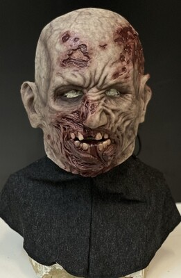 Walker Zombie Silicone Half Mask- IN STOCK & Ready to Ship 2-3 days!