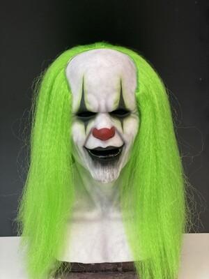 Green BoBo w/hair Premium Silicone Mask- IN STOCK & Ready to Ship 2-3 days!