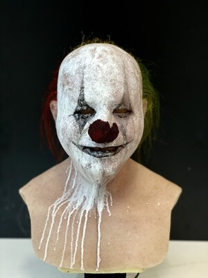 Scary Gary w/hair Premium Silicone Mask- IN STOCK & Ready to Ship 2-3 days!