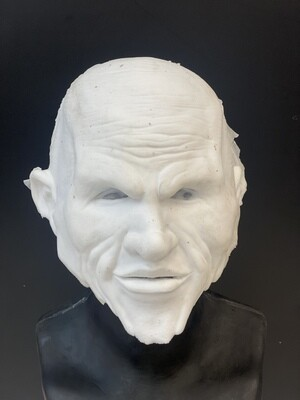 """""""Sinister"""" Silicone Mask- IN STOCK! (Flawed/Damaged/Unpainted)(See description)"""