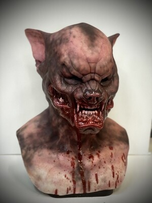 Custom Lycan Premium Silicone Mask- IN STOCK & Ready to Ship 2-3 days!