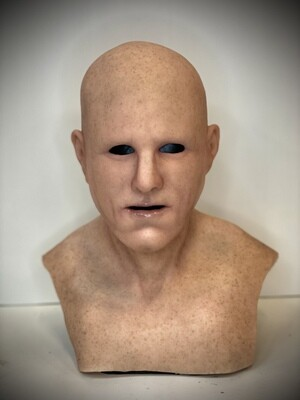 """The """"Actor"""" Premium Silicone Mask- IN STOCK & Ready to Ship 2-3 days!"""