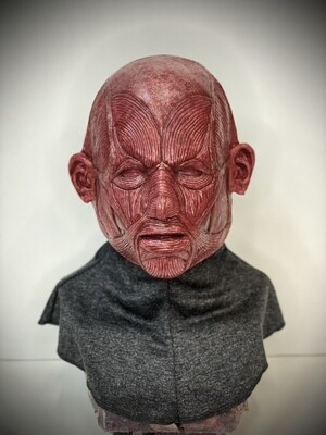 Flayed Silicone Half Mask- IN STOCK & Ready to Ship 2-3 days!