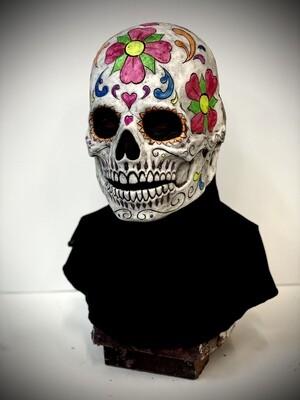 Sugar Skull Silicone Half Mask- IN STOCK & Ready to Ship 2-3 days!