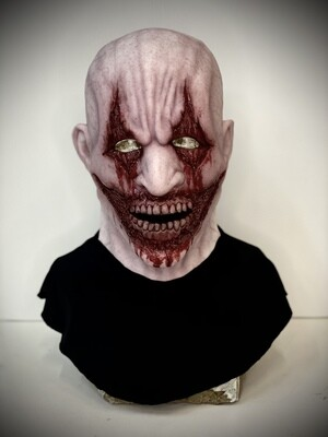 Brutus Pale Silicone Half Mask- IN STOCK & Ready to Ship 2-3 days!