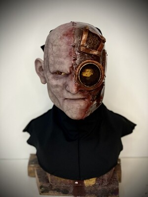 Gear head Silicone Half Mask- IN STOCK & Ready to Ship 2-3 days!