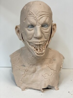 """""""Jig Saw"""" Silicone Mask- IN STOCK! (Flawed/Damaged/Unpainted)(See description)"""