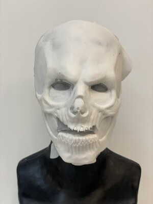 """""""Kharon Skull"""" Silicone Mask- IN STOCK! (Flawed/Damaged/Unpainted)(See description)"""