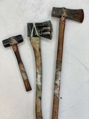 Lot of (3) Realistic Foam Weapon Props- IN STOCK & Ready to Ship 2-3 days!