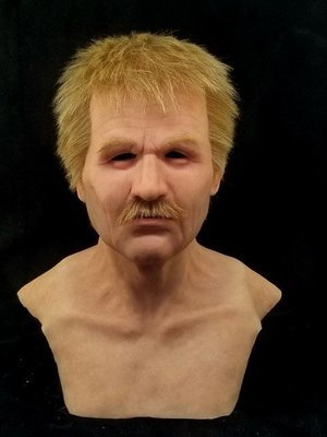 """""""Dexter""""  Silicone Mask"""