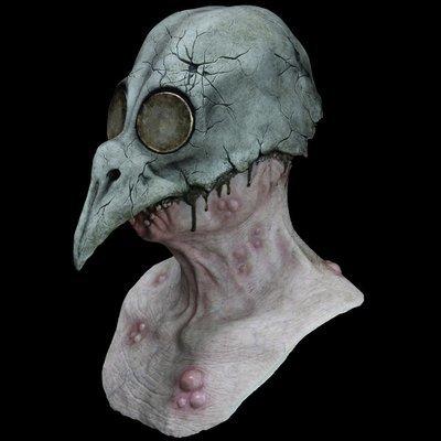 """Plague"" Silicone Mask"