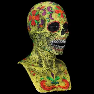 """The Sugar Skull"" Female Fit Silicone Mask"