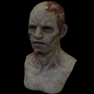 """""""Twitches the Zombie"""" Silicone Mask"""