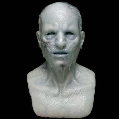 """""""Twitches the Zombie"""" Frozen Silicone Mask"""