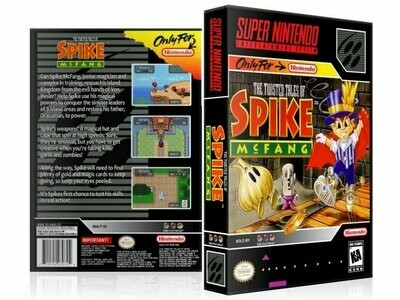 Twisted Tale of Spike McFang, The