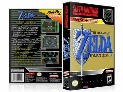 Legend of Zelda, The: Hylian Legacy