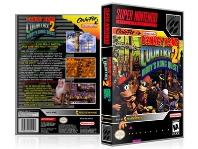 Donkey Kong Country 2: Diddy's Kong