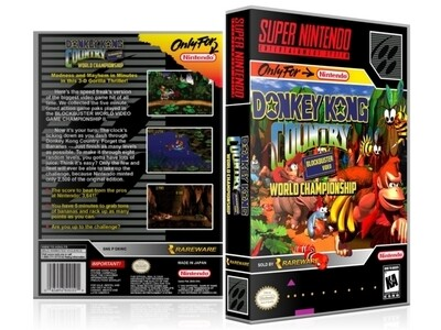 Donkey Kong Country Competition Cartridge