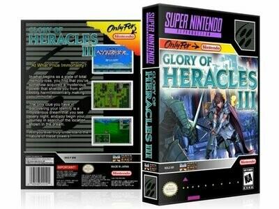 Glory of Heracles III