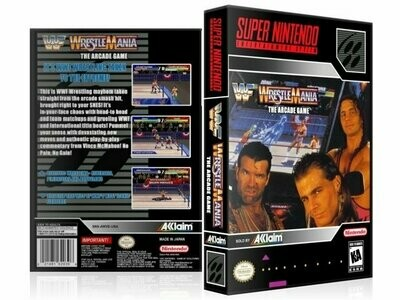 WWF Super WrestleMania: The Arcade Game
