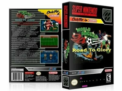 World Soccer '94: Road to Glory
